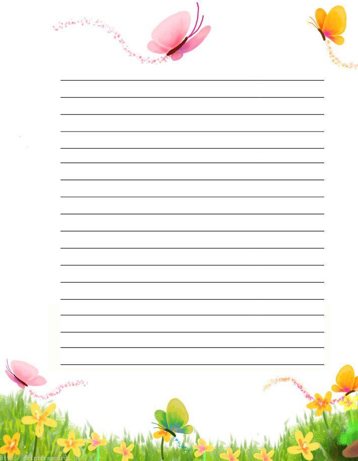 free printable lined writing paper hitecauto - free printable lined stationary