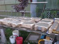 NEW RETAINING WALL BLOCK CONCRETE MOLD - Wet Castings ...
