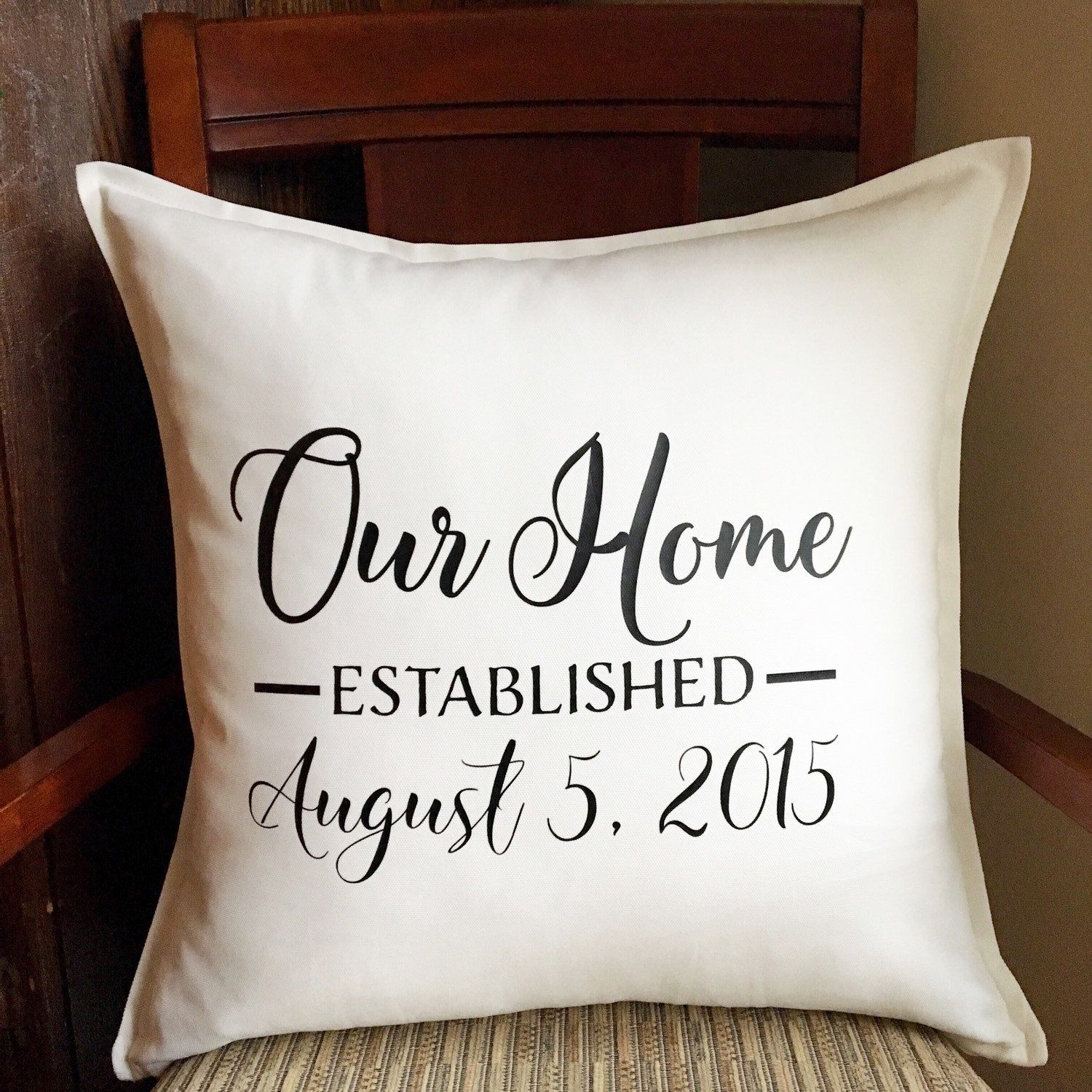 Personalized House Warming Gift Our Home New Home Gift Housewarming Gift