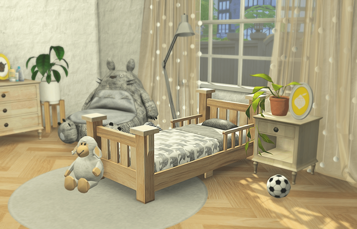 Klassiek Bed Classic Toddler Bed Recolors By Melon Pixelsyo So After