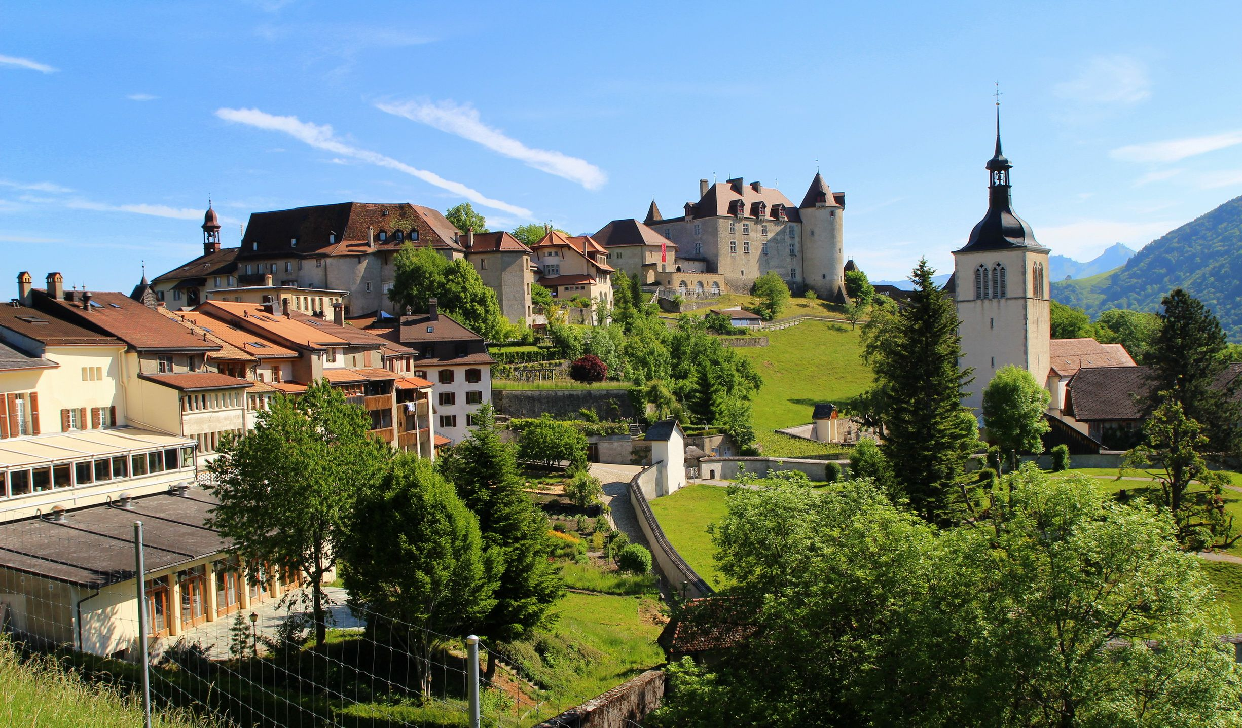 Maison De Gruyere Switzerland Houses Fribourg Gruyere Cities Swiss