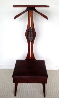 Vintage Butler Valet Gentlemen Chair Mid Century Modern ...