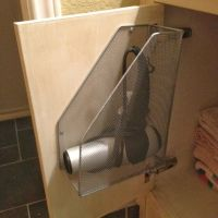 Best 25+ Hair dryer holder ideas on Pinterest