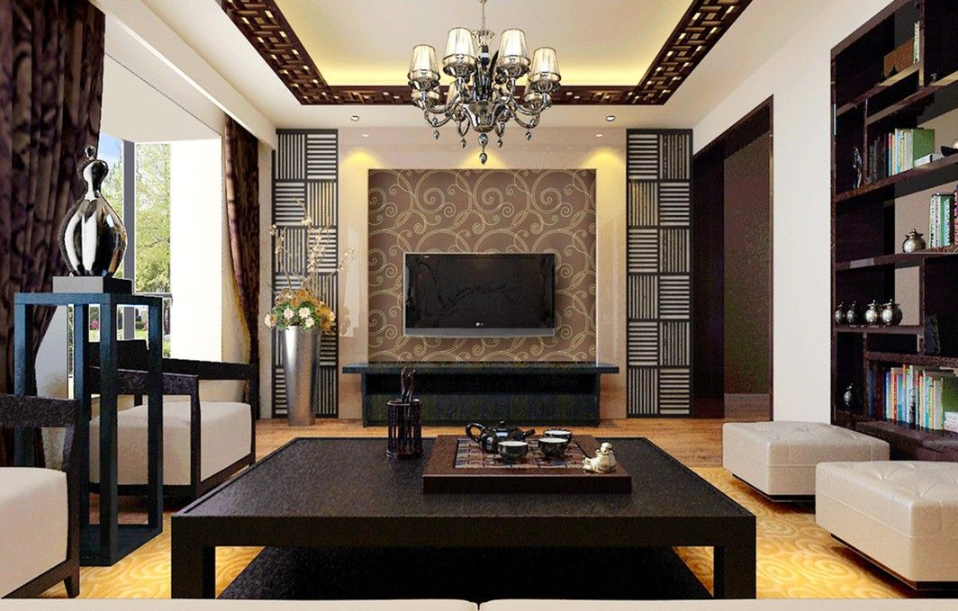 Furniture Design Styles Dark brown furniture design for Chinese - paint colors for living room walls with dark furniture