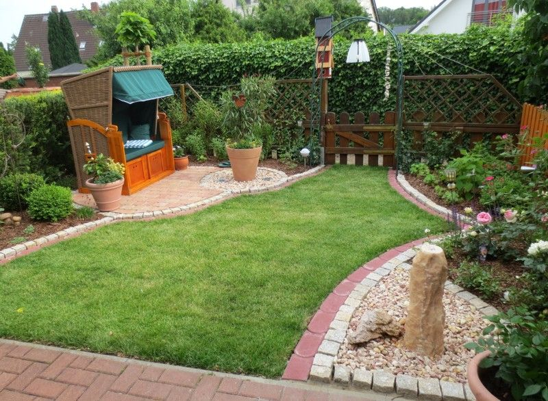 Die besten 25+ kleiner Hinterhof Landschaftsbau Ideen auf - gartengestaltung kleine garten