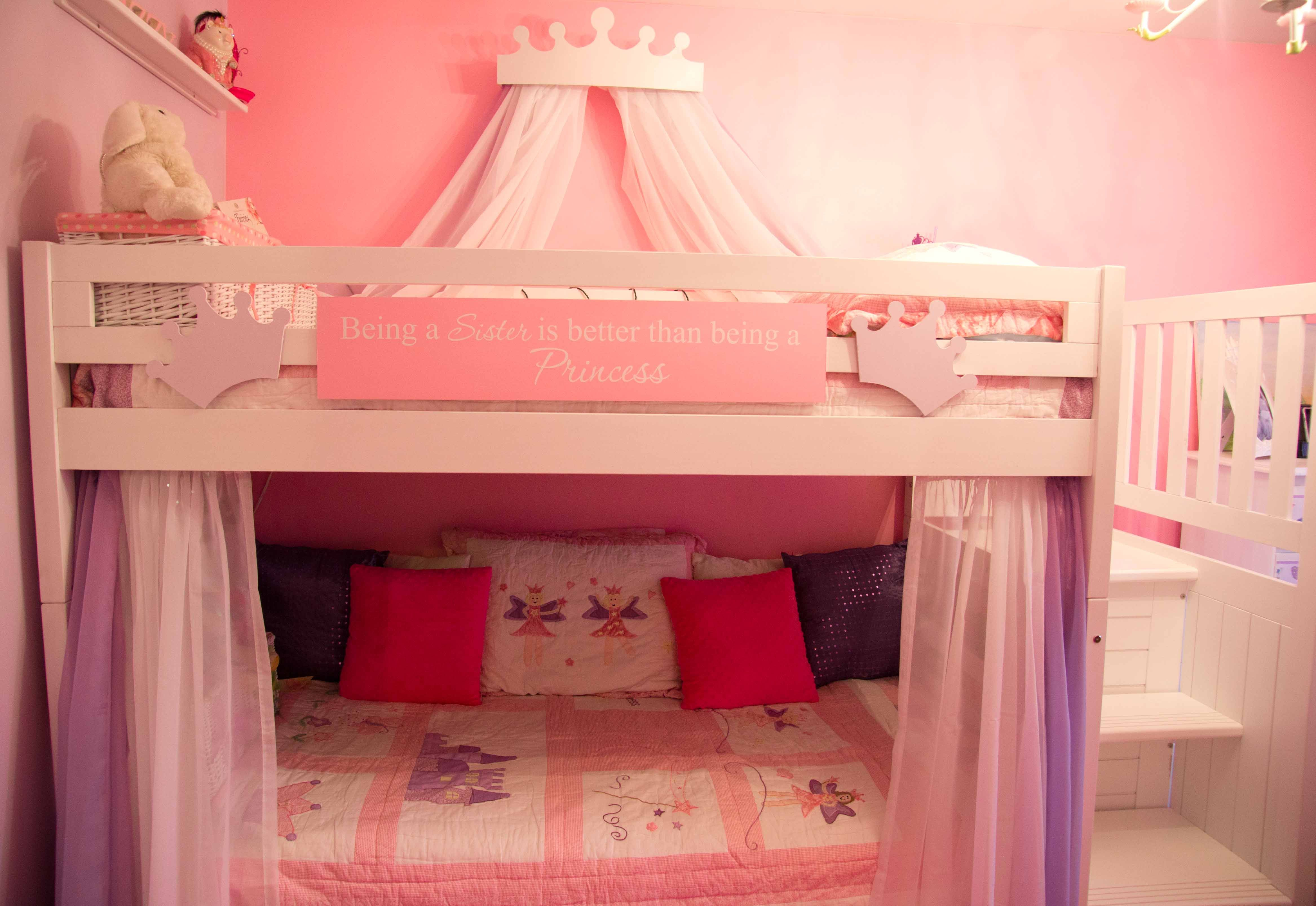Cheap Bunk Beds Decorating A Shared Kids Room On A Budget