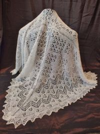 1ply Shetland Lace Shawl - Hand Knitted by a Scottish Nana ...