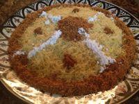 Moroccan Chicken Vermicelli( Seffa Madfouna) | Fatima's ...