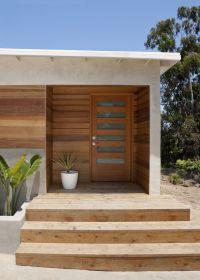 chair rail height Modern Entry Designs San Diego covered ...