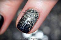 Black And Silver Glitter Ombre Nails | www.pixshark.com ...
