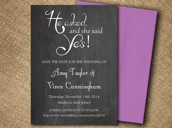 Chalkboard Bridal Shower Invitation, Downloadable Wedding Shower - bridal shower invitation templates for word