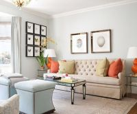 Great neutral living room with pops of color | Home Decor ...