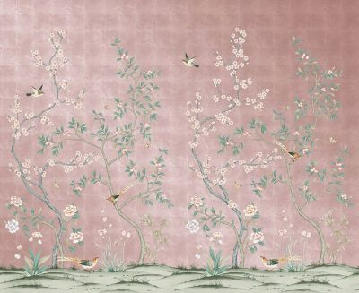 This Chinoiserie Wallpaper Is Temporary, Affordable, and Basically a Dream Come True ...
