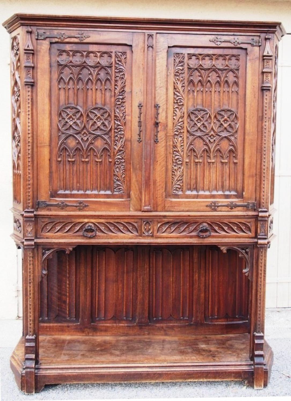 Furniture antique for sale dressoir credence gothic revival