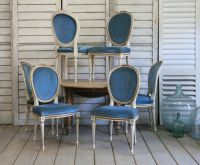 Traditionally finished Louis XVI style chairs. House ...