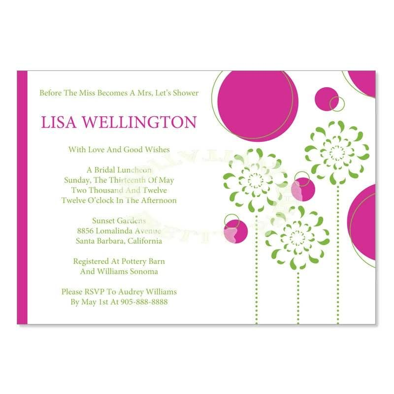 Bridal Shower Invitation Templates For Word #bridal #shower - bridal shower invitation templates for word