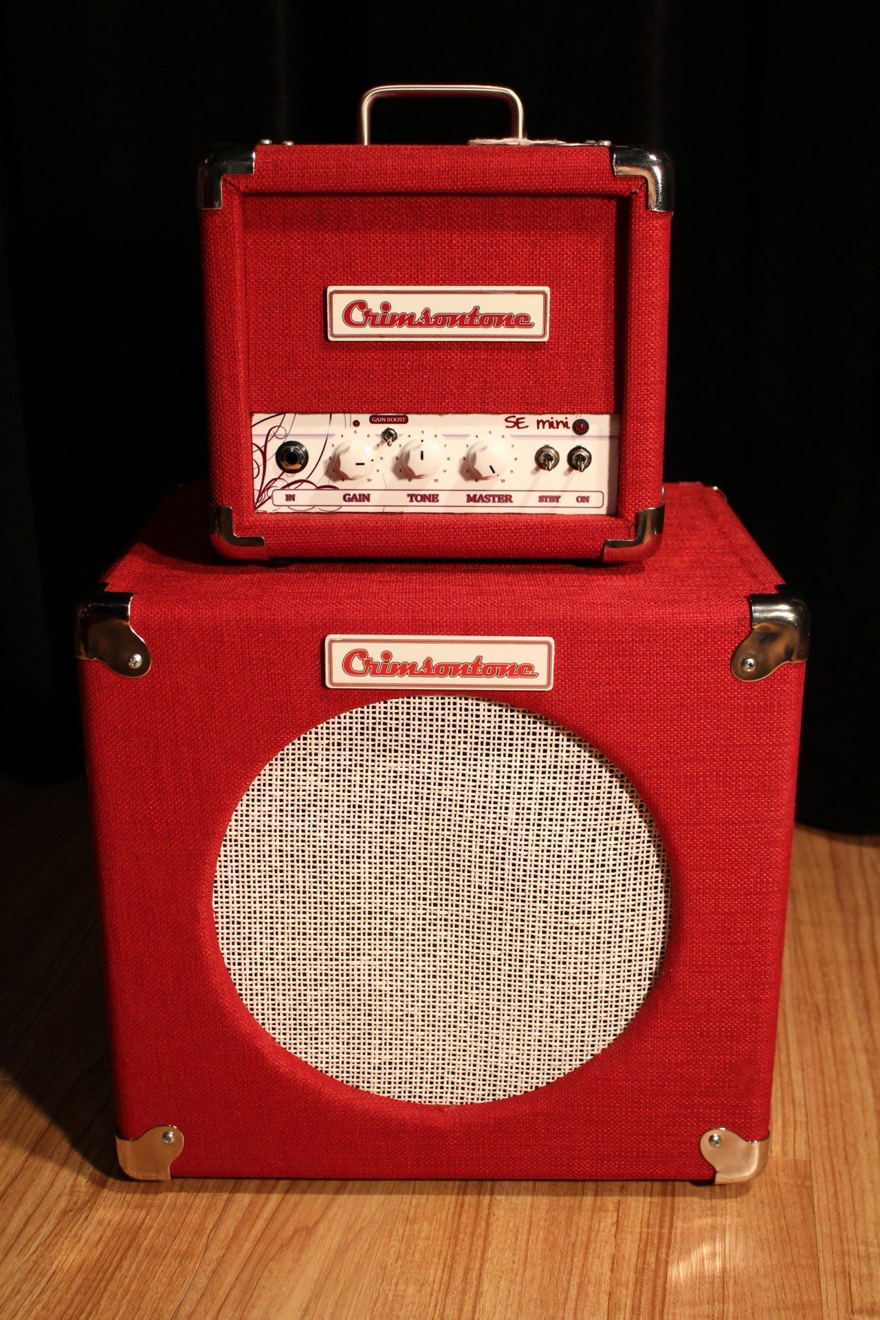 Boutique Ampm Crimsontones Se Mini Boutique Tube Guitar Amplifier Cab