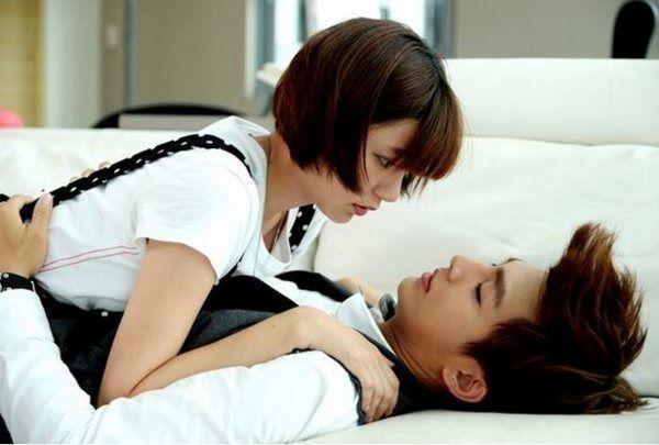 Aaron Yan Fall In Love With Me Wallpaper Qi Yi And Cheng Liang Liang Aaron Yan And Puff Guo Just