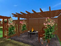 small patio | ... Small Backyard Patio Designs Small ...