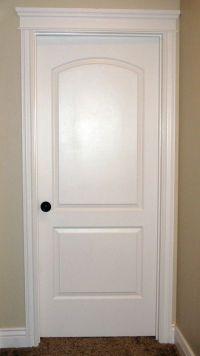 Interior Door...love the crown over a bedroom door. | my ...