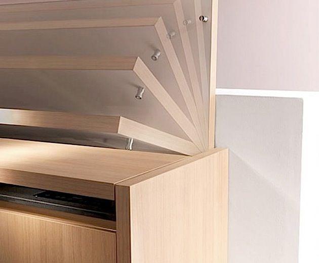 Die kompakte Mini-Küche von Kitchoo KlonBlog kitchen diy - kompaktes minikueche design konzept