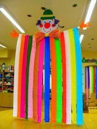 Joker birthday decoration | Paper craft | Pinterest ...
