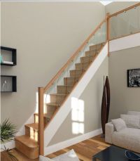 Details about Glass Staircase Balustrade Kit - Glass Stair ...