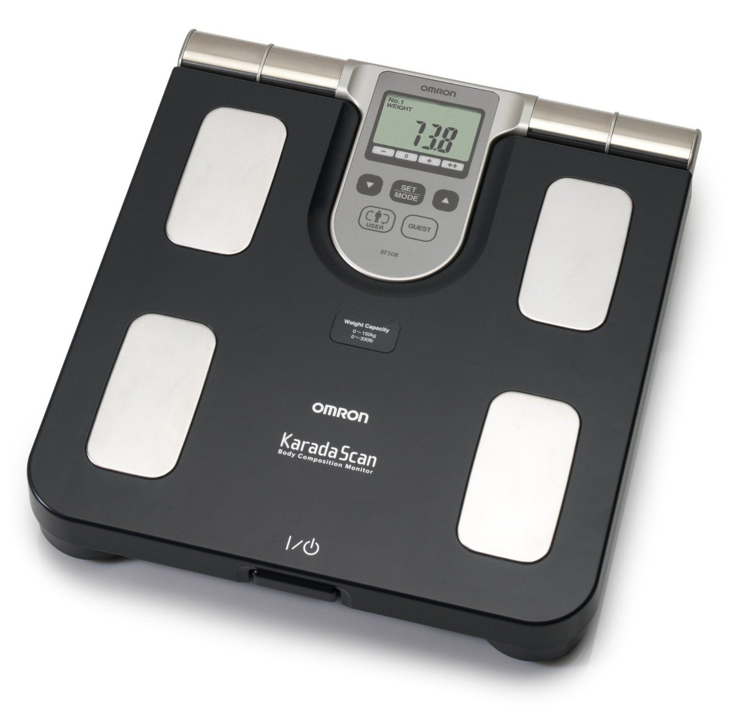 Omron bf508 body composition and body fat monitor bathroom scale amazon co uk