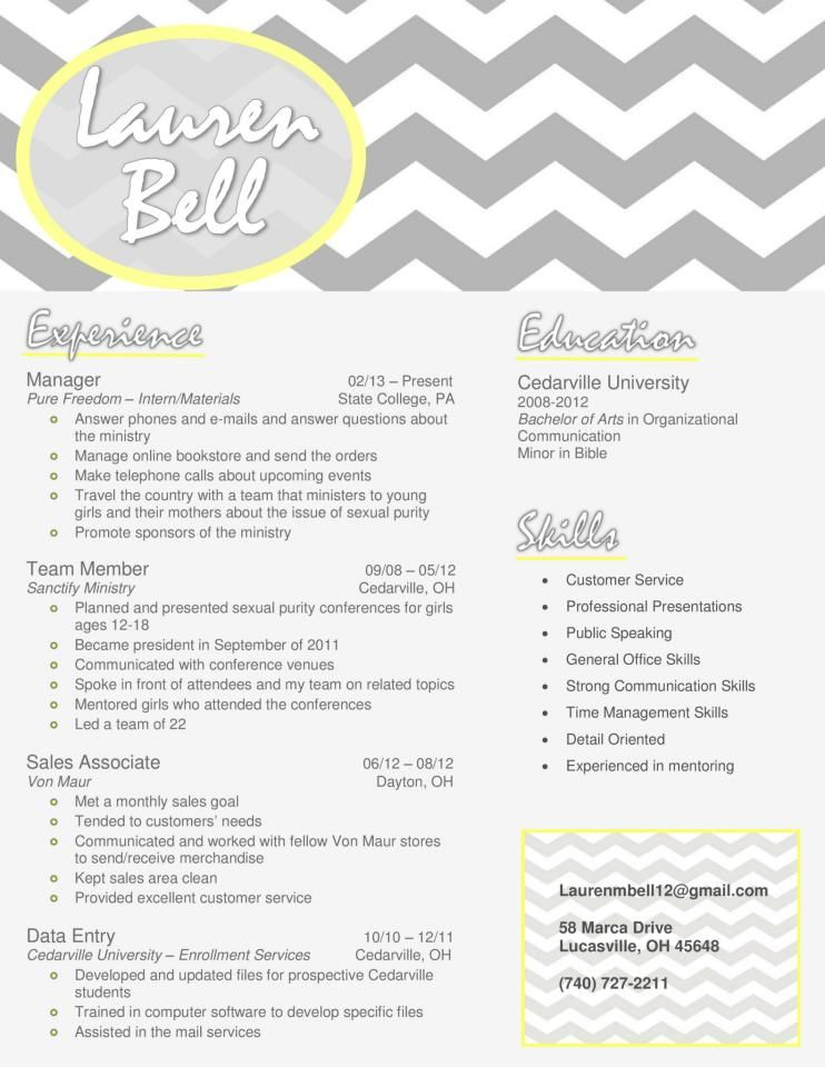 My resume design in gray and yellow Buy the template for just $15 - buy resume templates