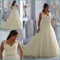 Best Selling A line Plus Size Wedding Dress 2014 Vestido ...