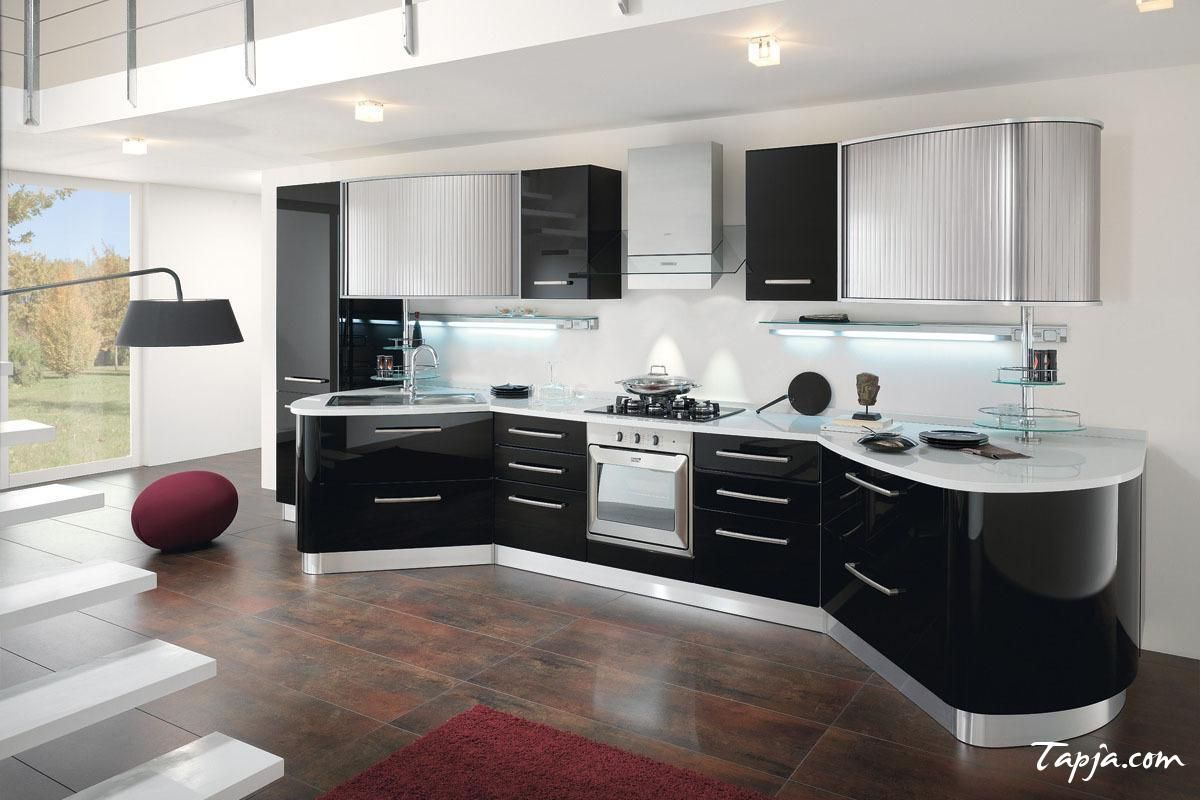 Kitchen Cabinets Design Video Stunning Italian Modern Kitchen Design With Black Gloss