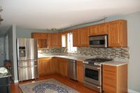 Popular Kitchen Paint Colors With Oak Cabinets : Colored ...