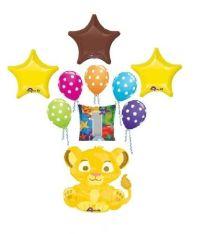 Disney Lion King Simba First 1st Birthday Balloons ...