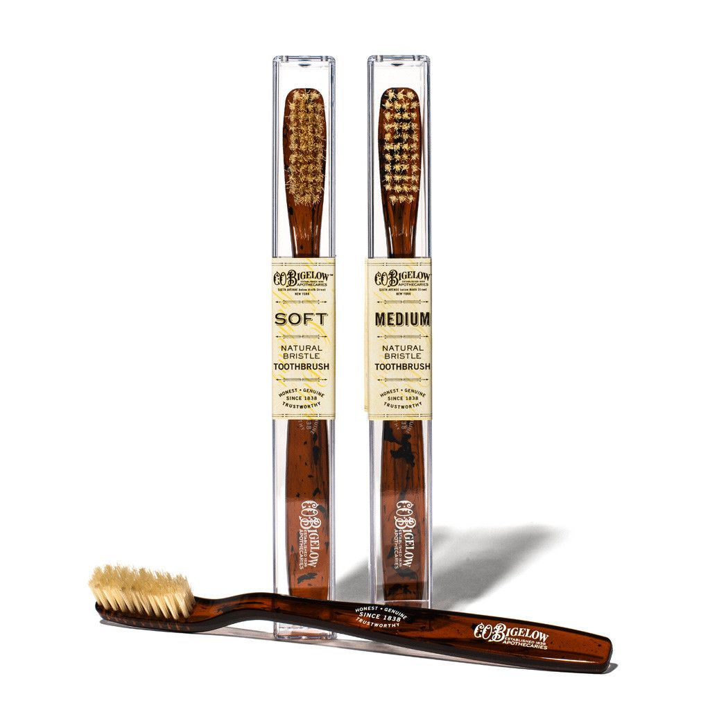 Lustige Badezimmer Accessoires Natural Bristle Toothbrush By C O Bigelow Gentleman 39s