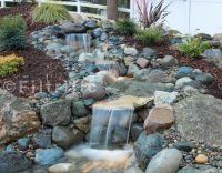backyard waterfalls | My DIY Backyard Ideas  Backyard ...