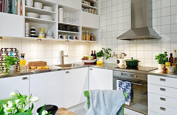 20 skandinavische Küchen Designs - attraktive Einrichtung Ideen - skandinavisches kuchen design sorgt fur gemutlichkeit