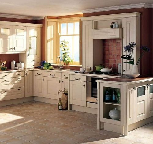 Küche im Landhausstil gestalten - rustikaler Touch zu Hause - moderne kuche gestalten