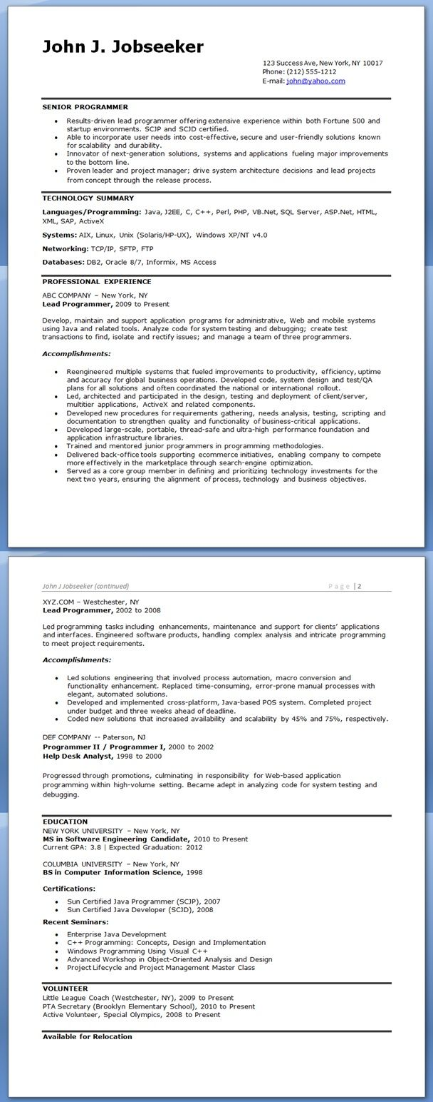 Network Administrator Resume Example Doc – Network Administrator Resume Example
