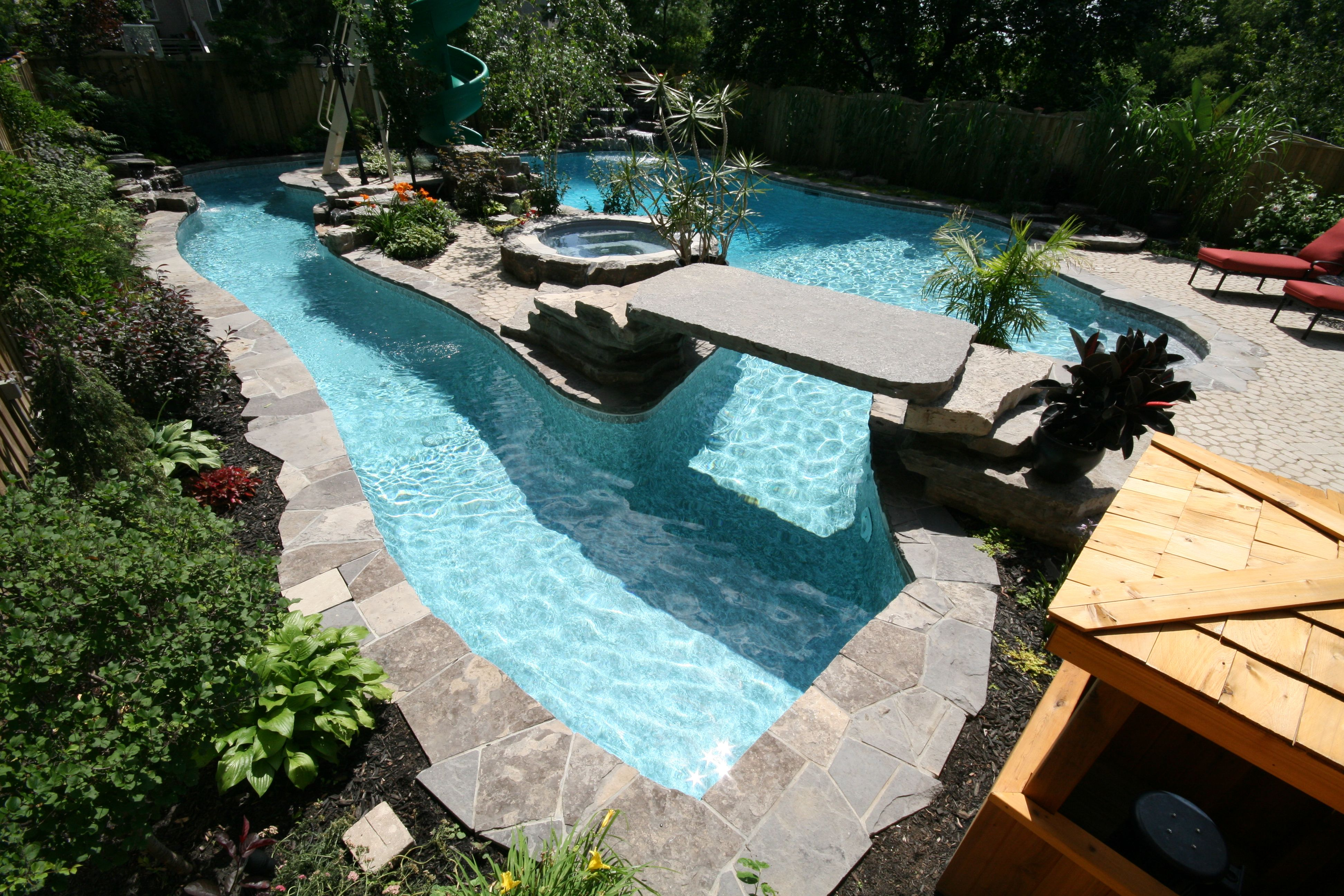 Can you imagine having a lazy river pool in your own