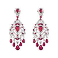 Faberg Regalia Ruby Earrings #Faberg #diamond #ruby # ...