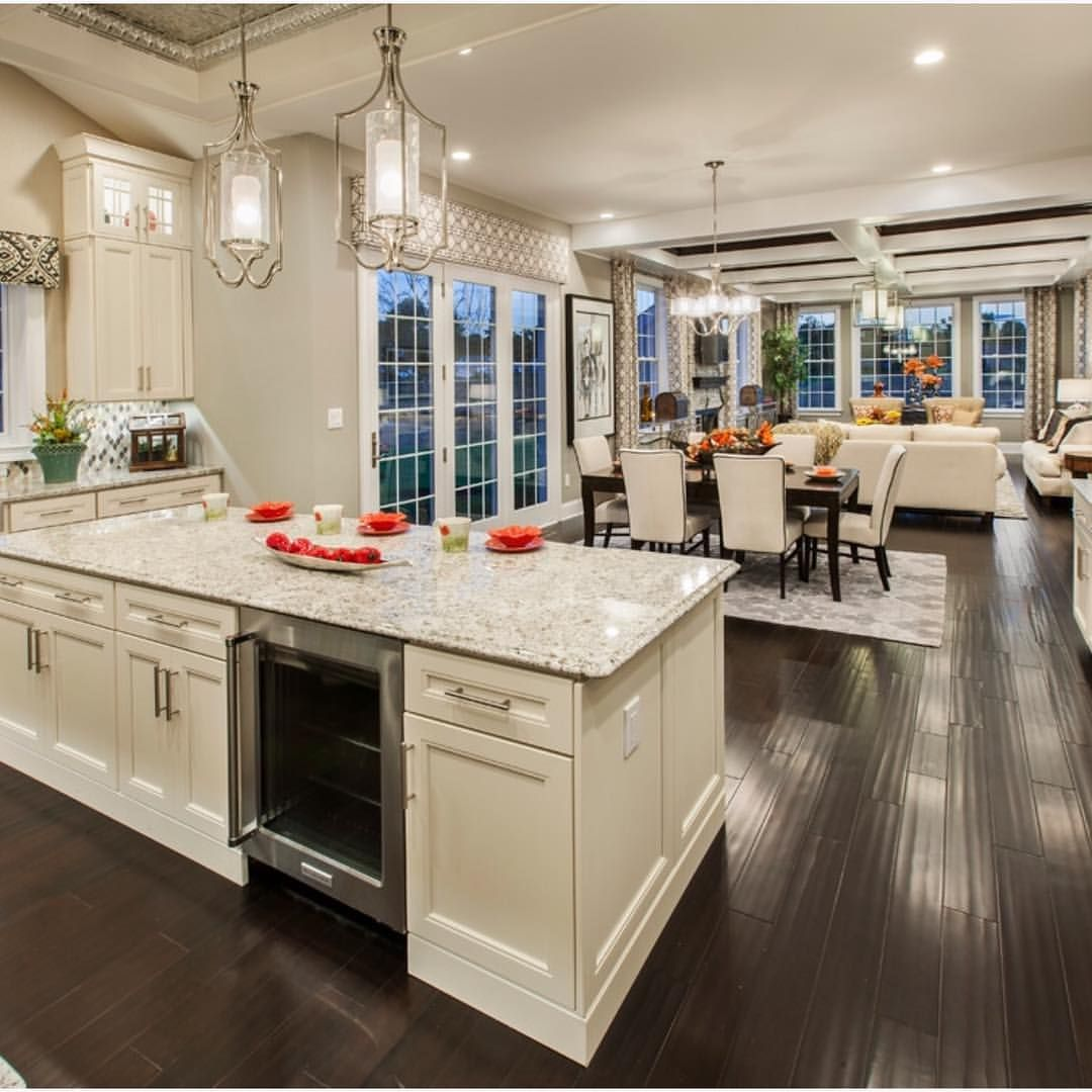 Kitchen Design Ideas Open Concept Loving This Open Concept By Tollbrothers Interiors
