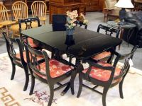 DUNCAN PHYFE CHAIRS | Duncan Phyfe dining table painted ...