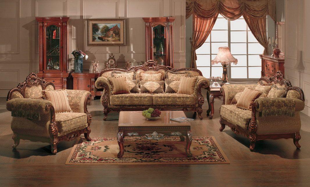 Living Room Furniture Sets Living Room Furniture Sofa Set (4052 - antique living room sets