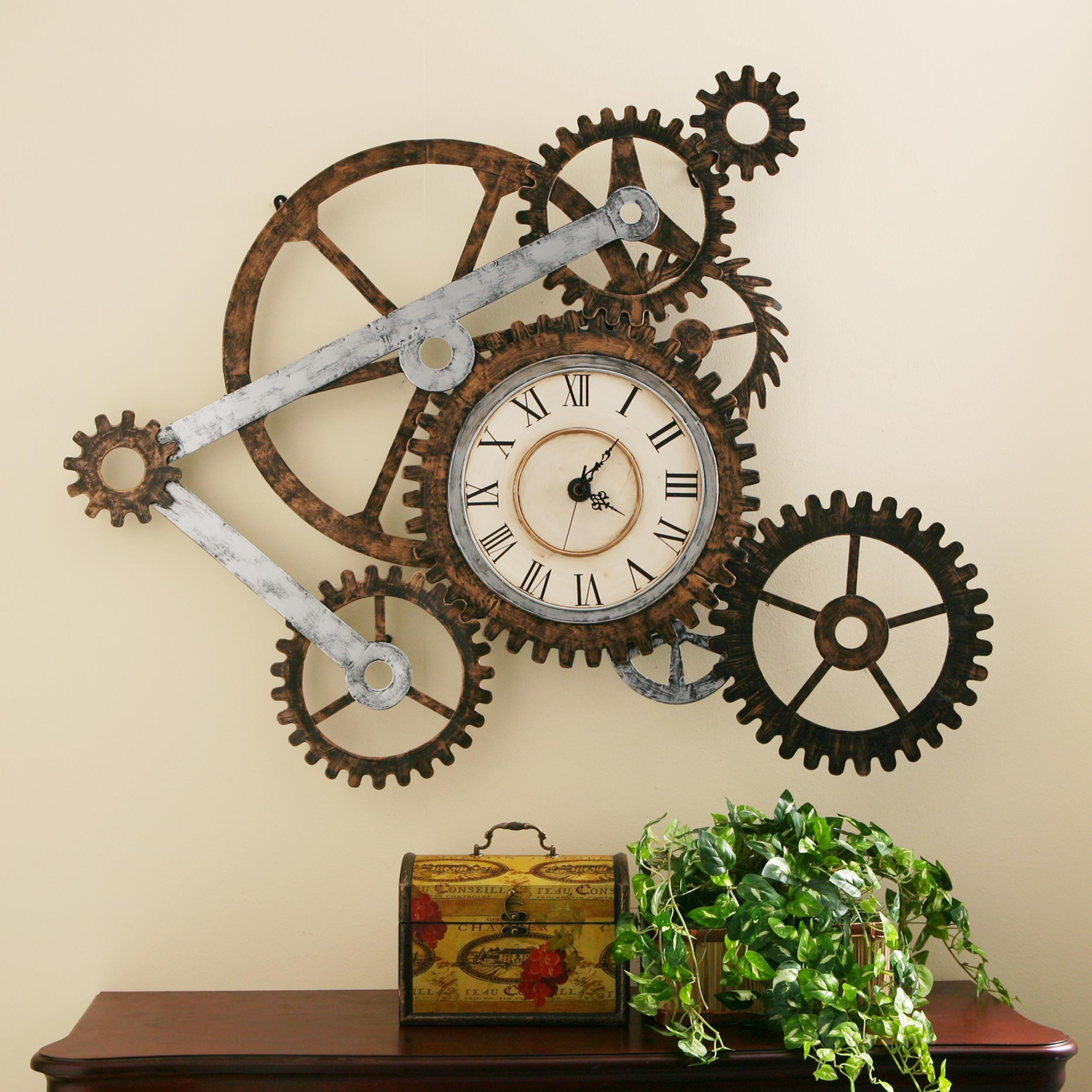 Sunshiny Clock Gear Clock Design Software Clock Gear Design Software Free Redd Gear Wall Clock Metal Wall Clock A Gears Wall Clockconstruction Grey Sei Metal Gear Wall Art furniture Gear Clock Design
