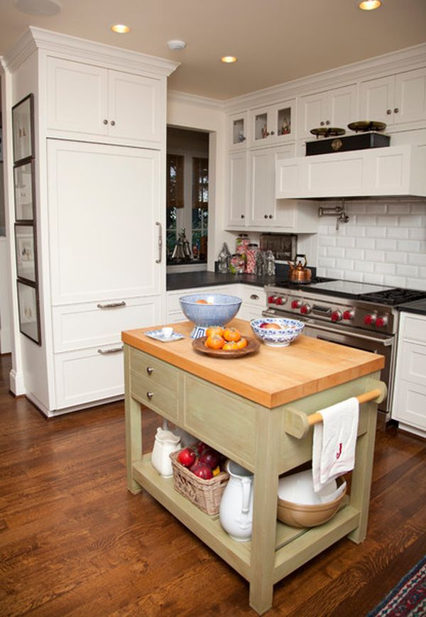 tiny-kitchen-island Island design, Small spaces and Kitchens - small kitchen ideas with island