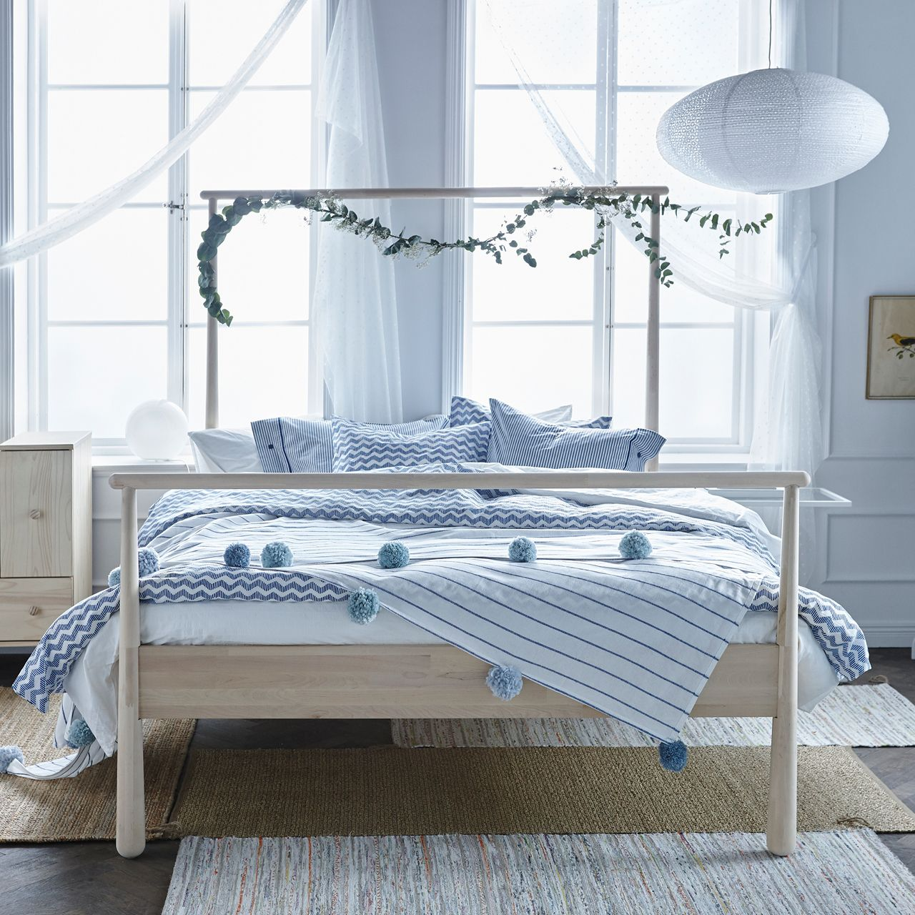 Bedroom Inspiration Ikea GjÖra Bed Frame Birch Lönset Bedrooms Bed Frames And Room