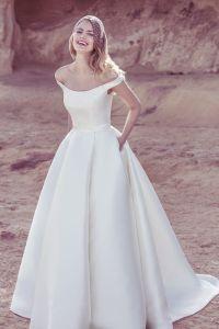 modern ballgown dress | style 19093 | Weddings | Pinterest ...