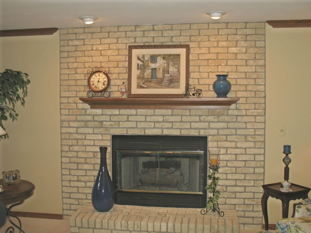 Fireplace Finishes Ideas Brick Fireplace Paint Ideas Fireplace Pinterest