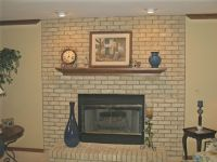 Brick Fireplace Paint Ideas | Fireplace | Pinterest ...