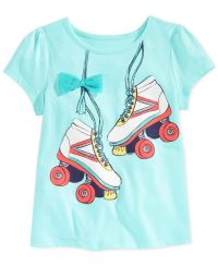 Epic Threads Little Girls' Roller Skates T-Shirt, Only at ...